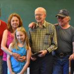 At 97, Bremen's Eldest Resident Still Mows the Lawn