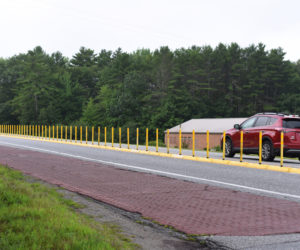 Plastic Barrier Aims to Improve Safety at Belvedere Road Intersection