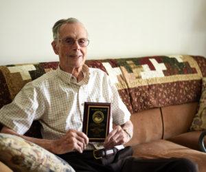 Damariscotta Man, 101, Receives Boston Post Cane