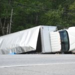 Box Truck Rolls Over, Spills 35 Barrels of Bait on Route 1 in Newcastle