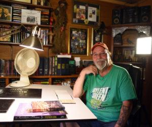 Filmmaker Interviews Newcastle Artist for Stephen King Documentary