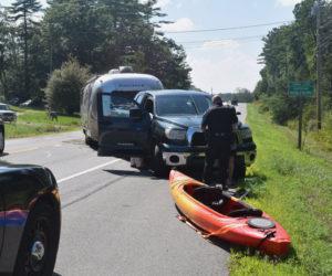 Truck Mishap Causes Route 1 Slowdown at Nobleboro-Waldoboro Line