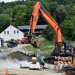 Construction Underway at Pine Street Landing