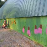 Work Begins on Westport Island Mural