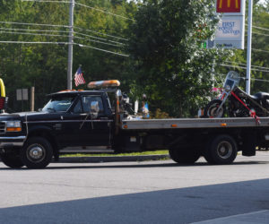 Motorcycle Strikes Camper on Route 1 in Wiscasset