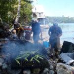 Mid-Coast Audubon Lobster Bake Fundraiser on Hog Island