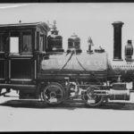 1895 Baldwin Locomotive from S.D. Warren Paper Mill Restored