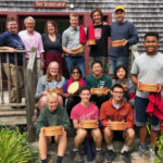 Carpenter's Boat Shop Hosts Bowdoin Freshman Orientation Group