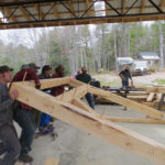 Fall Timber-Frame Construction Workshop at Nature Center