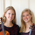 Davis Sisters to Perform Music for Two Violins in Round Pond