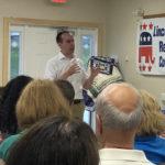 Republicans Host U.S. Senate Candidate Eric Brakey
