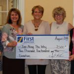 First National Bank supports Inn Along the Way