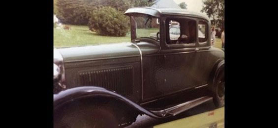 A 1930 Ford Model A Coupe was stolen from a Nobleboro residence between May and Saturday, Aug. 25, when the owner discovered it missing.