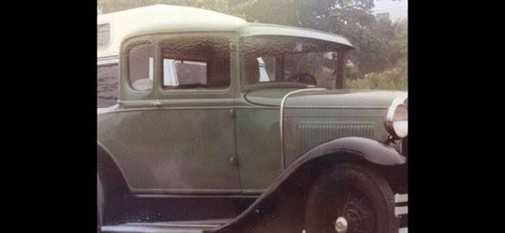 The Lincoln County Sheriff's Office asks anyone with information about the theft of a 1930 Ford Model A Coupe from a residence in Nobleboro to contact Detective Scott Hayden at 882-7332 or shayden@lincolnso.me.