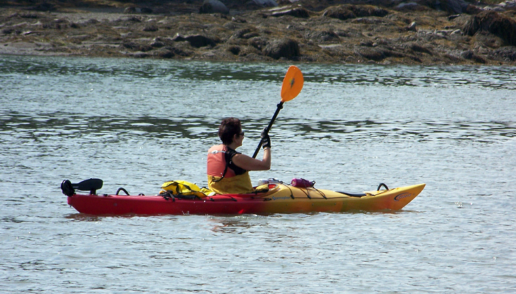 PWA Paddler Diane Gilman (Photo courtesy Jean Smith)