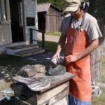 Maine Stone to Rock Boothbay Railway Village Once Again