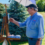 Plein Air Painters at Maine Open Lighthouse Day