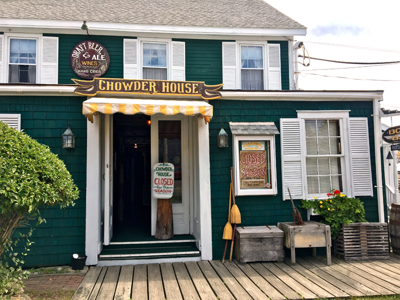 The iconic Chowder House in Boothbay Harbor closed on Labor Day weekend after 40 years in business. (Suzi Thayer photo)