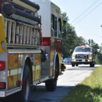 Pickup Burns on Route 1 in Nobleboro