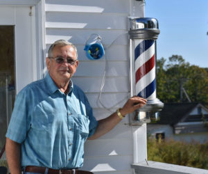 Longtime Damariscotta Barber Opens Shop at Waldoboro Home