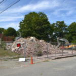 Haggett's Garage Comes Down, Sign Will Remain