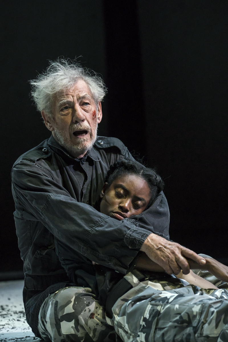 "Ian McKellan stars in ""King Lear."" (Photo courtesy Johan Persson)"