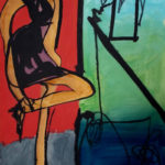 'Jazz Dancing' Paintings by John Vander at Gold/Smith Show