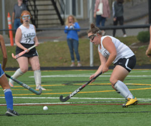 """<span class=""""entry-title-primary"""">Morse field hockey grounds Eagles in LA Homecoming</span> <span class=""""entry-subtitle"""">Morse 6 - Lincoln 0</span>"""
