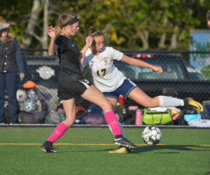 """<span class=""""entry-title-primary"""">Lady Eagles and Panthers settle for a tie</span> <span class=""""entry-subtitle"""">Lincoln 1 - Medomak 1</span>"""