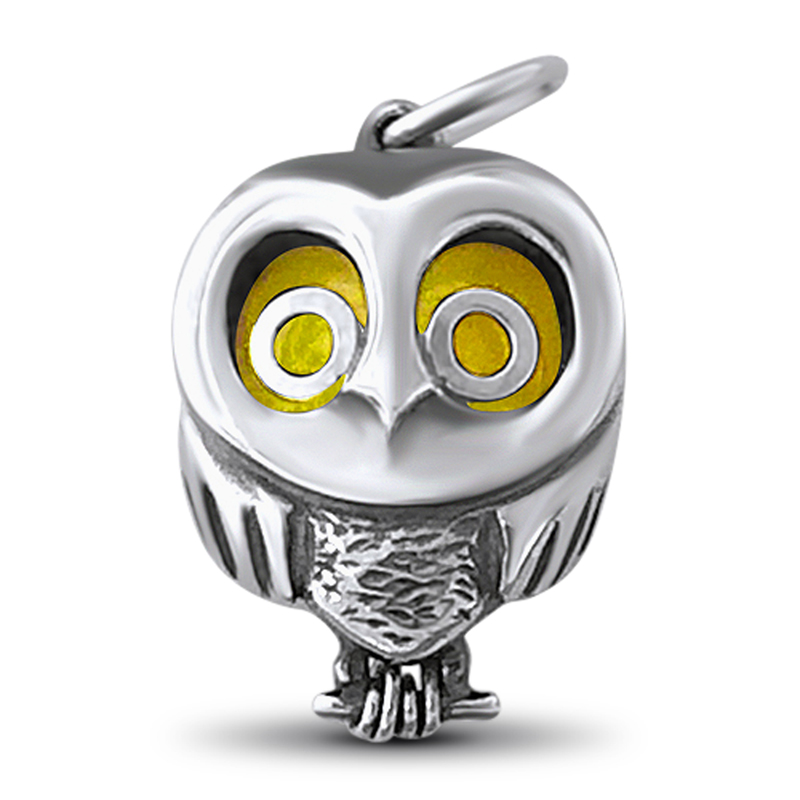 Peapod Jewelry's new owl design.