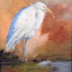 Two Oil Painters at Saltwater Artists Gallery