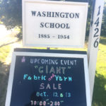 Giant Yarn and Fabric Exchange on Oct. 12 and 13 at Washington Schoolhouse
