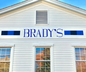 Brady's, a New Restaurant, Comes to Boothbay Harbor
