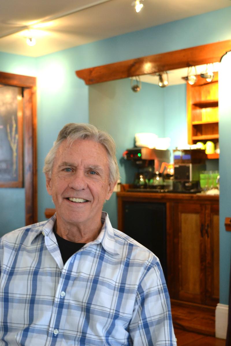 Nobleboro filmmaker Charles Stuart. (Christine LaPado-Breglia photo)