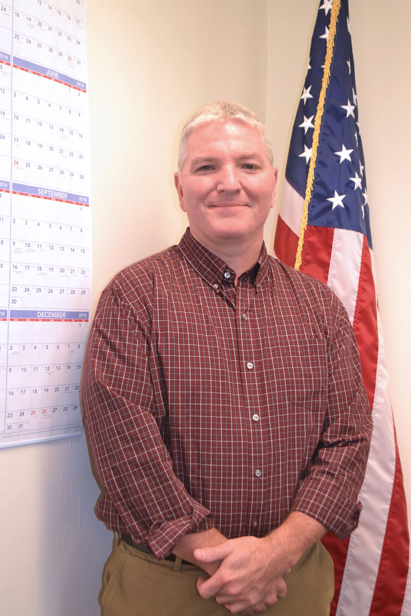 Damariscotta resident and U.S. Coast Guard veteran Thomas Nelson is the new director of the Lincoln County Communications Center. (Charlotte Boynton photo)
