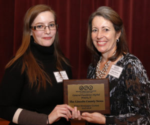 Lincoln County News Takes Top Honors for Website