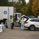 Despite Rain, Chamber Shred Event A Success