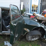 '65 Jaguar Crashes into Porch of Nobleboro Home