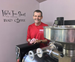Crossroads Coffee Beans: Now Roasting on Westport Island