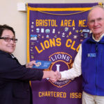 Johansson Gets 40-Year Lions Service Award