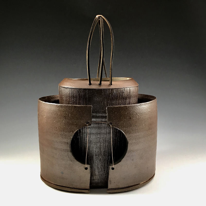 A piece by ceramist and Maine Craft Weekend participant Sarah Burns.