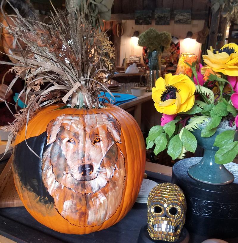 Pupkin the pumpkin. (Sarah Caton photo)