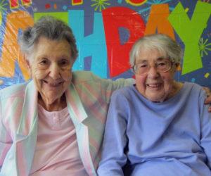 Two Waldoboro Green Residents Turn 99