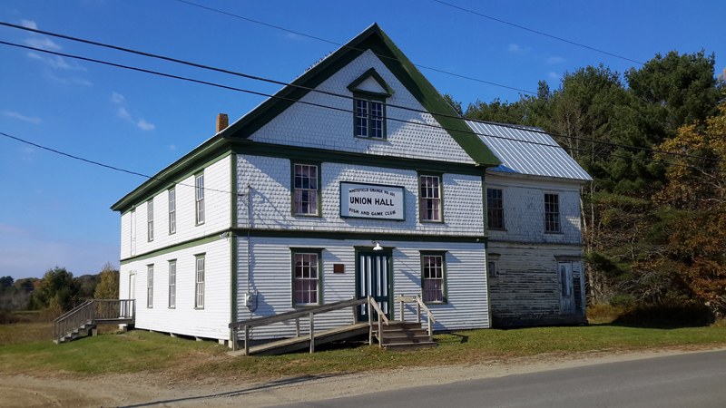 Kings Mills Union Hall in Whitefield will benefit from a $3,200 grant from the Maine Community Foundation.