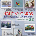 Miles Memorial Hospital League Holiday Cards Feature Local Artists
