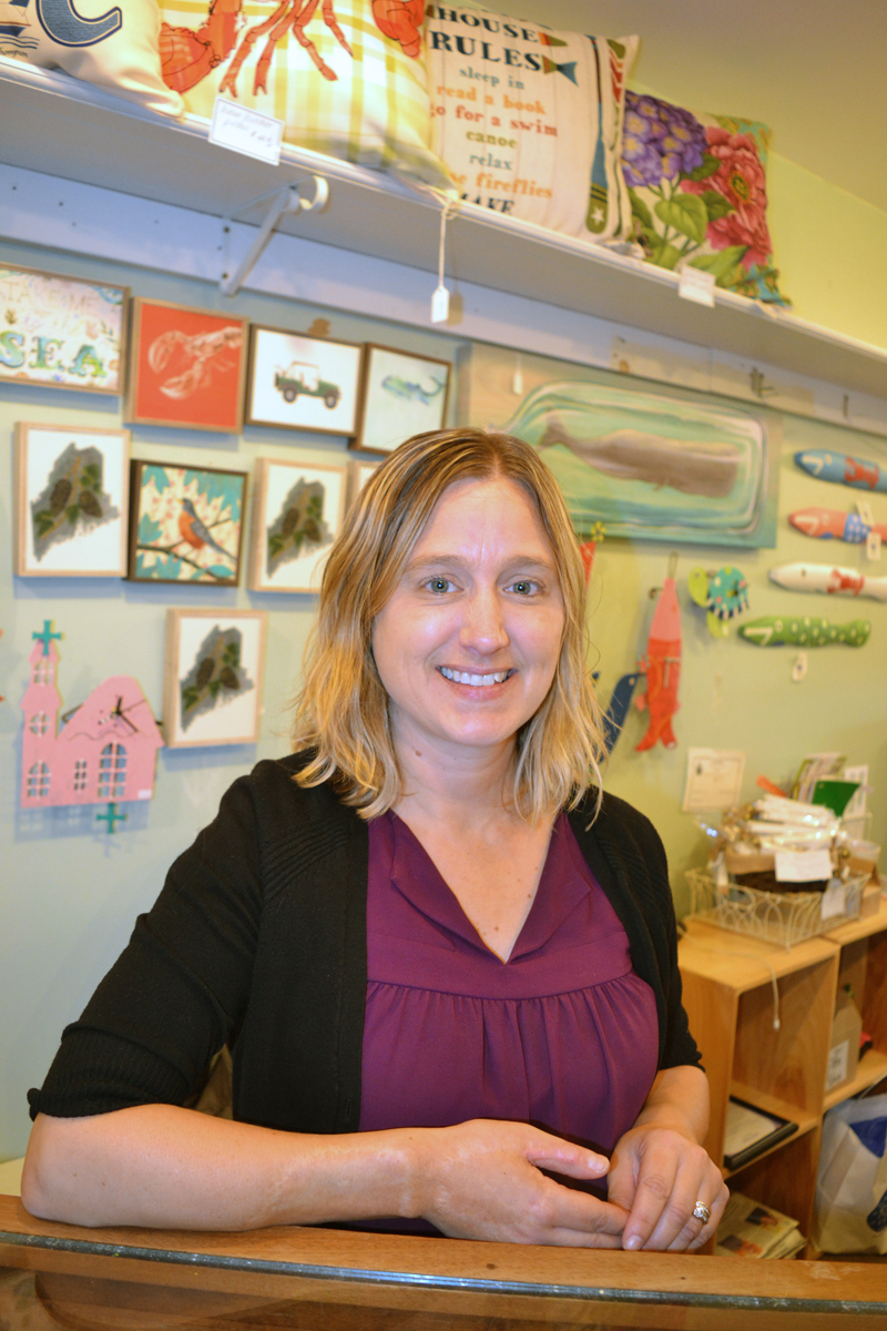 Melissa Ellinwood, owner of The Accessories Shop. (Christine LaPado-Breglia photo)