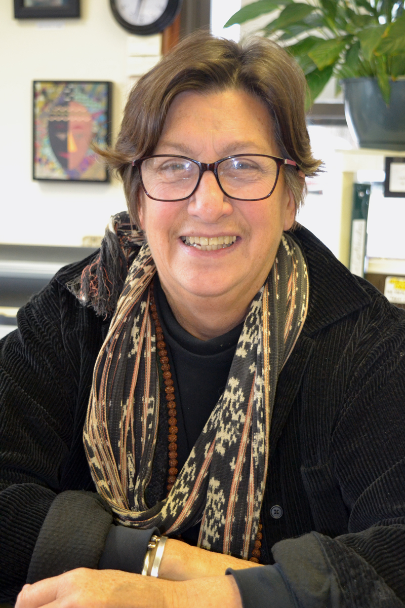 Alexsondra Tomasulo, of Salt Bay Art Supply in Damariscotta. (Christine LaPado-Breglia photo)
