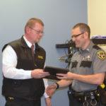 Jail Officer Earns Commendation; Board Discusses Audit, Bonuses