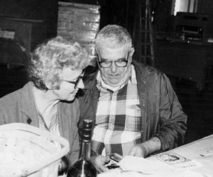 Abbie and Sam Roberts. In addition to their 67-year marriage, they were partners in the news business for many years.