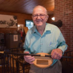 Whitefield Presents Boston Post Cane to Local 'Legend' Albert Boynton